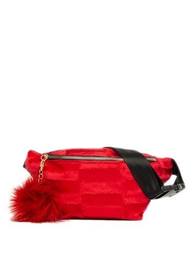 Bagmori Bel Çantası Kırmızı